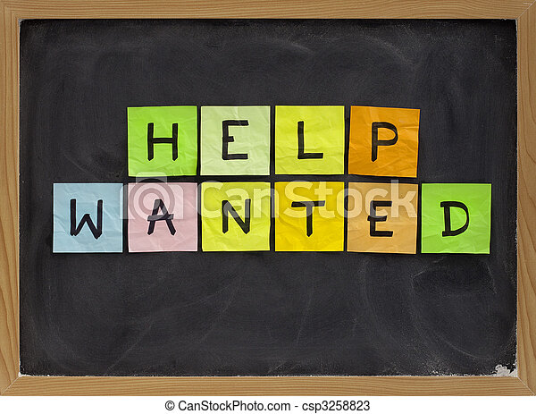 help wanted - csp3258823