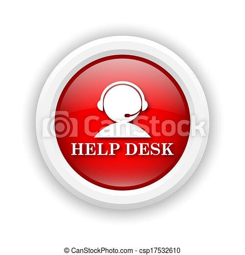 helpdesk, icône - csp17532610