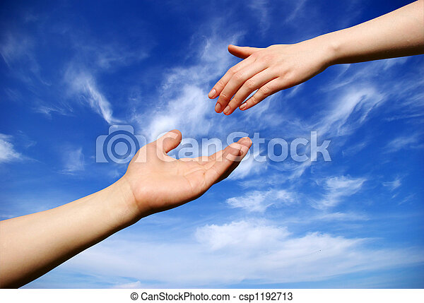 helping hand - csp1192713