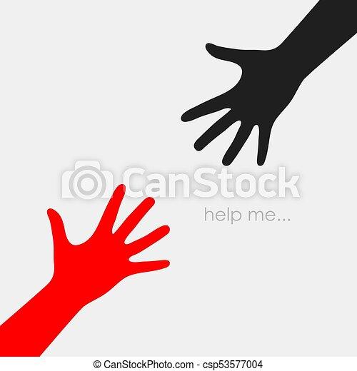 helping hand vector icon helping hands eps vector icon rh canstockphoto com vector hands heart vector handshake free download