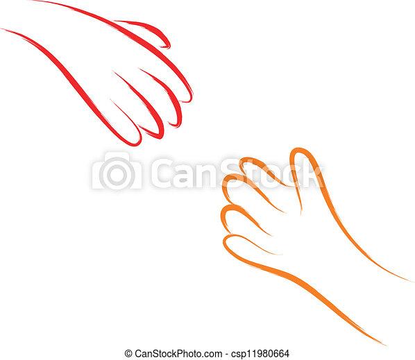 helping hands  - csp11980664