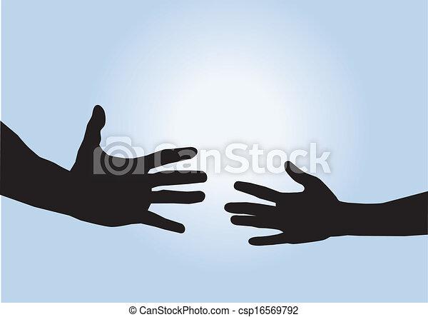 helping hands - csp16569792