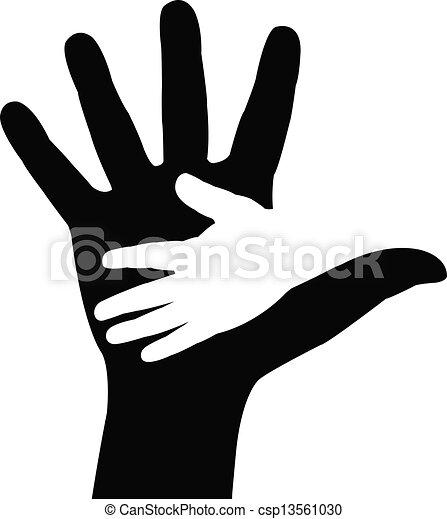 Helping hands   - csp13561030