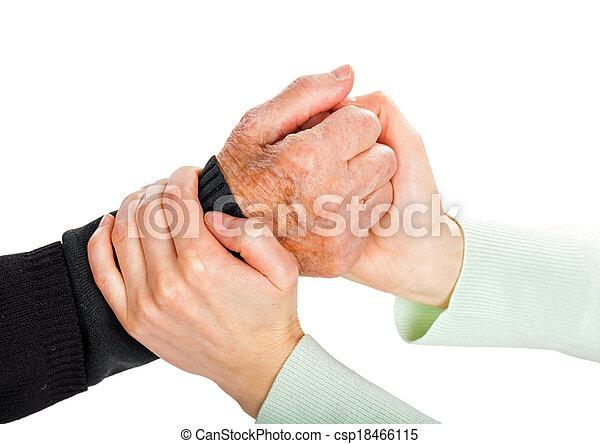 Helping hands - csp18466115