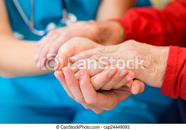 Helping hands - csp24449093