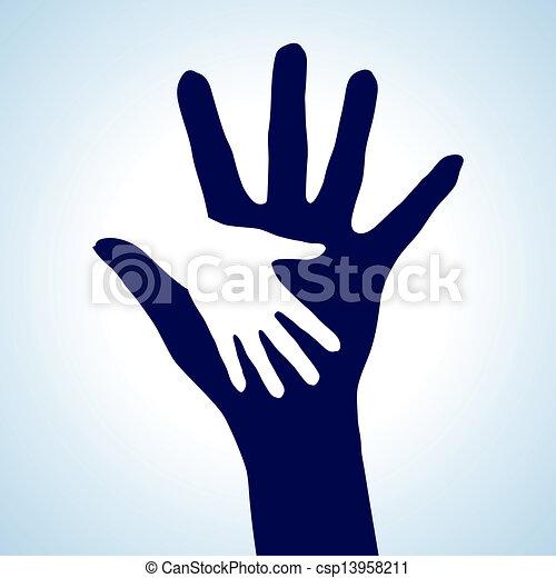 Helping Hands - csp13958211