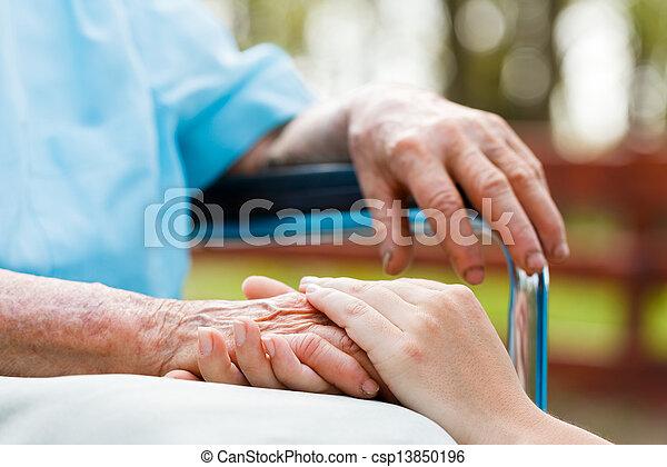 Helping the needy - csp13850196