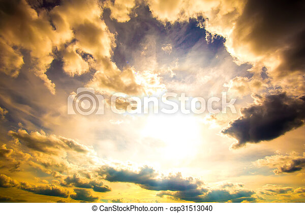hemel, dramatisch - csp31513040