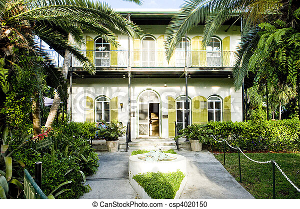 Hemingway House, Key West, Florida, USA - csp4020150