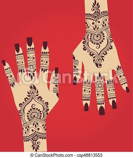 Henna Hena Mehendi Design