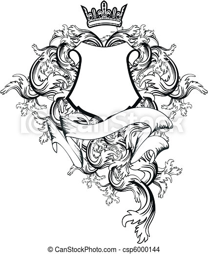 heraldic coat of arms copyspace7 heraldic coat of arms eps rh canstockphoto com sg coat of arms vector art coat of arms vector file