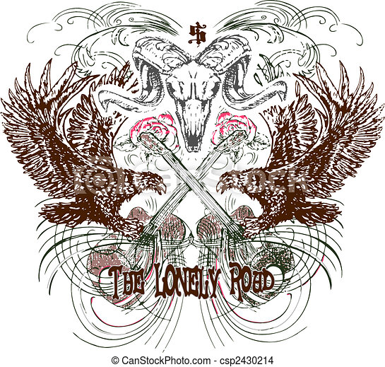 Heraldic Emblem Design - csp2430214