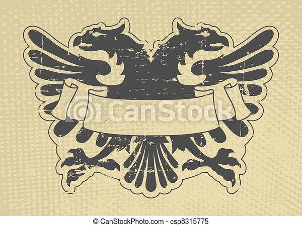 Heraldic stamp - csp8315775