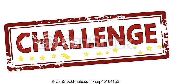 Herausforderung - csp45184153