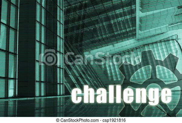 Herausforderung - csp1921816