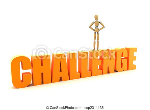 Herausforderung - csp2311135