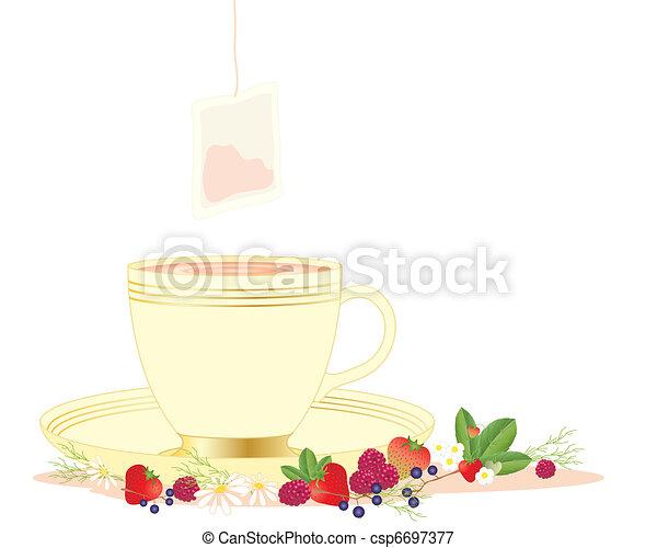 herbal tea - csp6697377