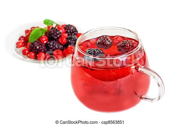 herbata, owoc - csp8563851