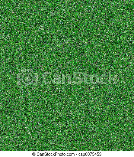 herbe, artificiel - csp0075453