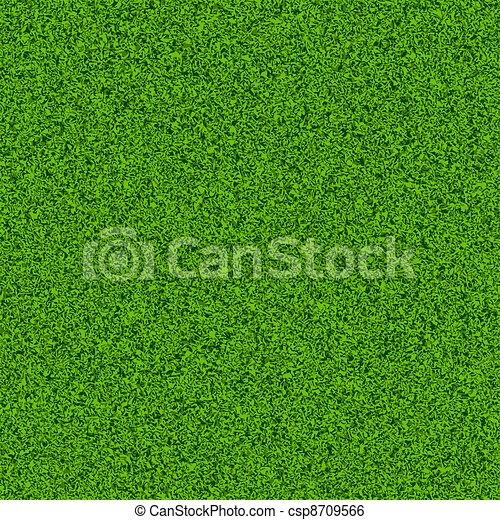 herbe champ, vert - csp8709566