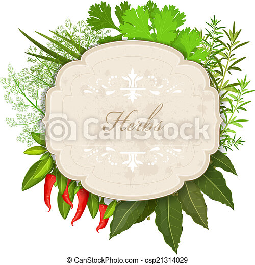 herbs and spices vector illustration search clipart drawings and rh canstockphoto com Spice Container Clip Art Herb Border