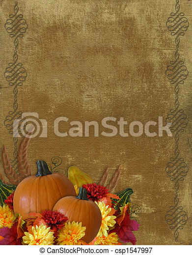 herfst, dankzegging, achtergrond, herfst - csp1547997