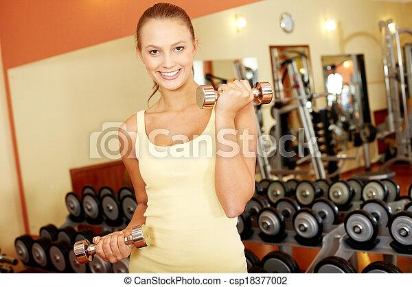 hermoso, atleta - csp18377002