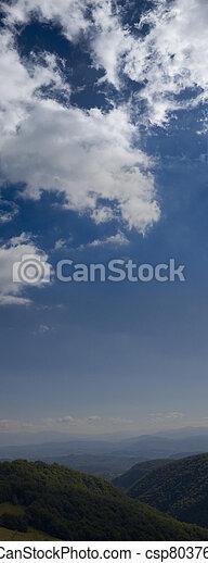 hermoso, cielo azul - csp8037663
