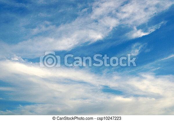 hermoso, cielo azul - csp10247223