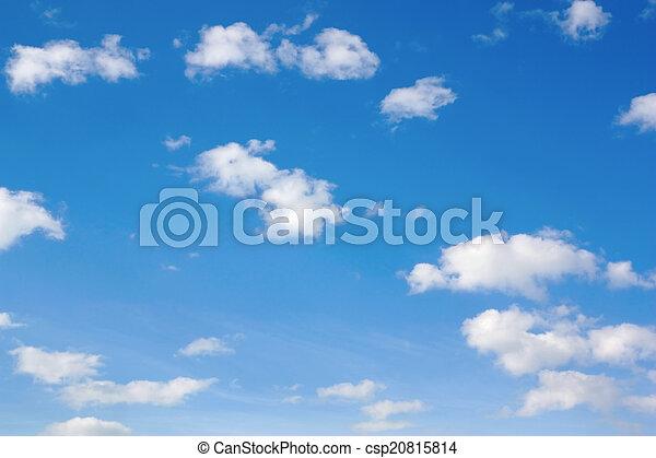 hermoso, cielo azul - csp20815814