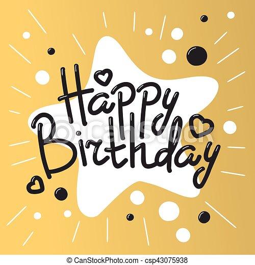 Hermoso Vector De Invitaciones De Cumpleaños Feliz Hermosas