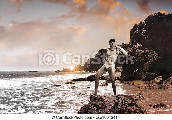 Hermoso hombre - csp10043414