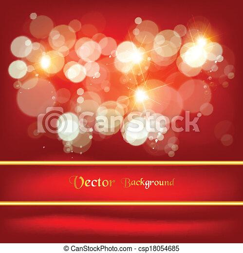 hermoso, muchos, brightness., resumen, plano de fondo - csp18054685
