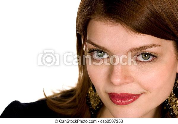 Hermosa mujer de negocios - csp0507353