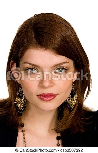 Hermosa mujer de negocios - csp0507392