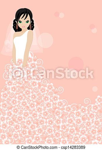 Hermosa novia - csp14283389