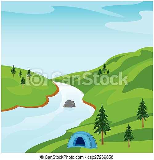 Hermoso paisaje - csp27269858