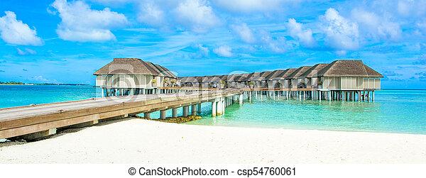 Hermoso paisaje tropical - csp54760061