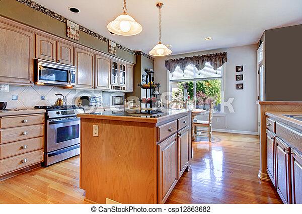 hermosos pisos de cocina Hermoso Piso Madera Dura Walls Grande Verde Blanco