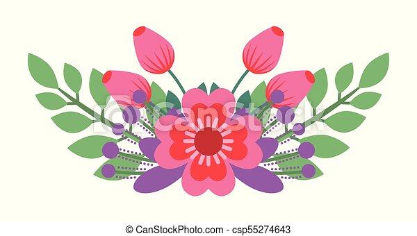 Hermoso Ramo Arreglo Floral Flores Ramo