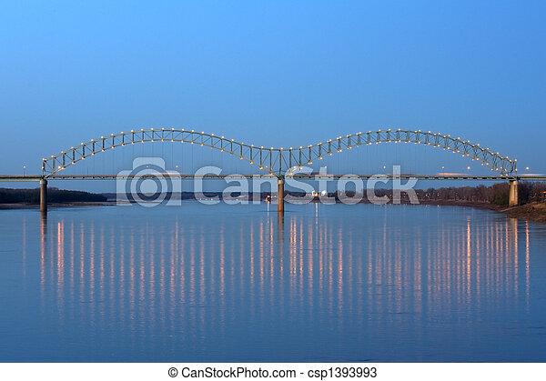 Hernando de Soto Bridge - csp1393993