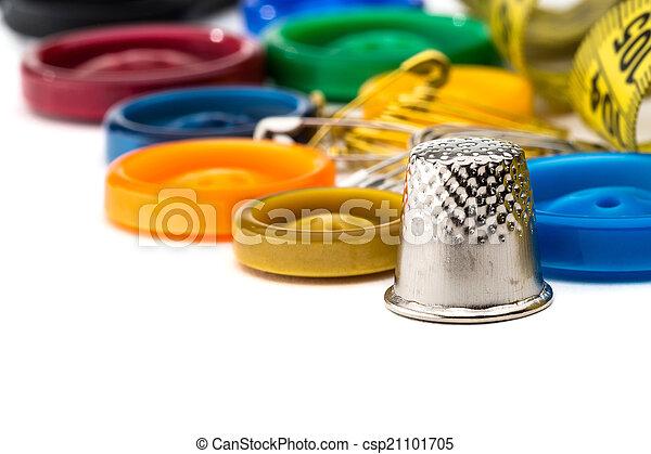 Herramientas para coser y hacer a mano - csp21101705