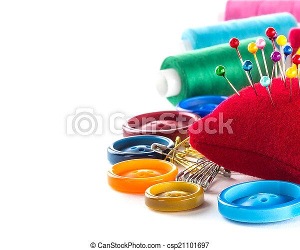 Herramientas para coser y hacer a mano - csp21101697