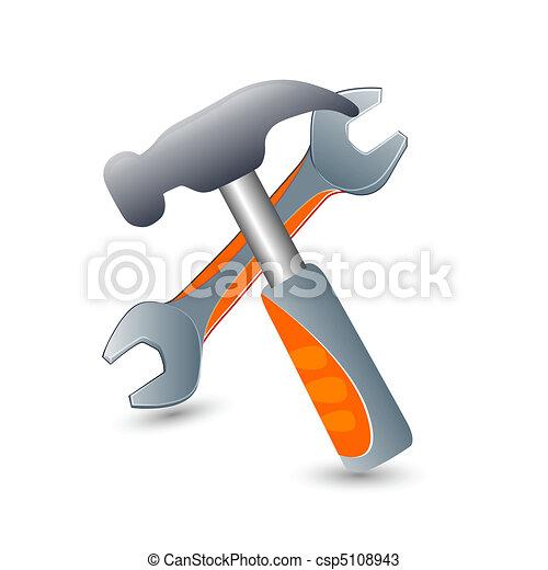 herramientas, iconos - csp5108943