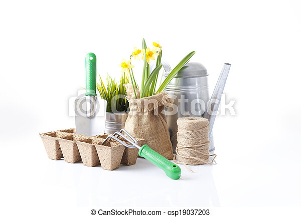Herramientas de jardín - csp19037203