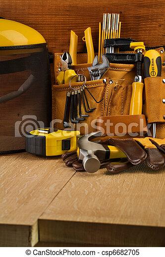 herramientas, trabajando - csp6682705