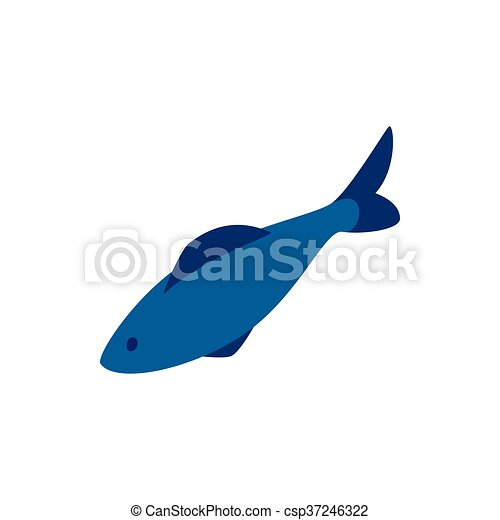 herring fish icon isometric 3d style herring fish icon in rh canstockphoto co uk Krill Clip Art pickled herring clipart