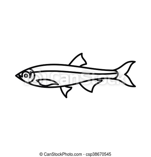 herring fish icon outline style herring fish icon in eps vector rh canstockphoto com hearing clip art free red herring clipart