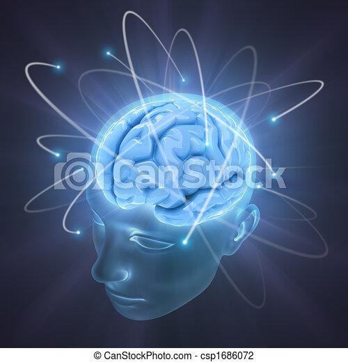 hersenen, mind), (the, macht - csp1686072