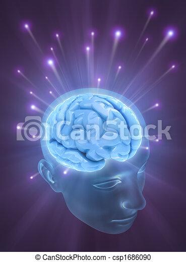 hersenen, mind), (the, macht - csp1686090